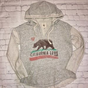 California love • billabong pullover • with pocket